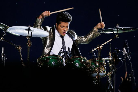 Bruno Mars at Gorge Amphitheatre