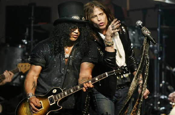 Aerosmith & Slash at Gorge Amphitheatre