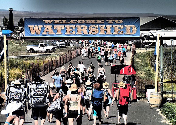 Watershed Festival at Gorge Amphitheatre