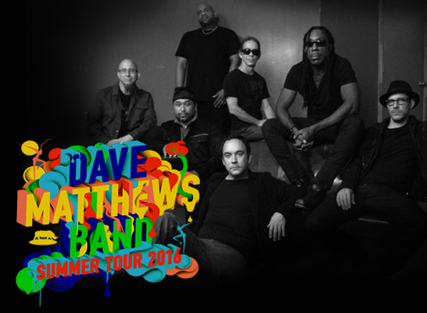 Camping Pass - Dave Matthews Band (9/1-9/5) at Gorge Amphitheatre