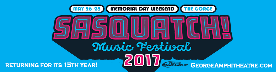 Sasquatch! Festival - Saturday Admission at Gorge Amphitheatre