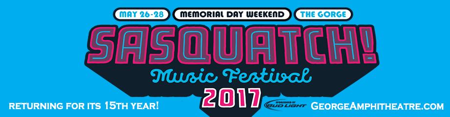 Sasquatch! Festival - Saturday Admission at Gorge Amphitheatre