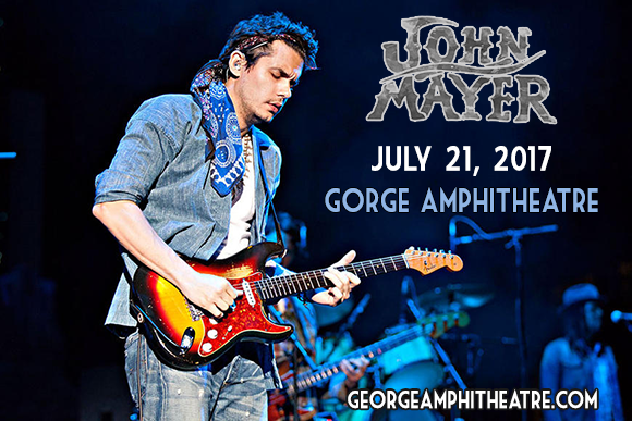 john mayer tickets 21st july gorge amphitheatre. Black Bedroom Furniture Sets. Home Design Ideas