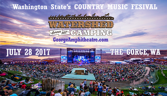 Camping Passes Only: Watershed Festival at Gorge Amphitheatre