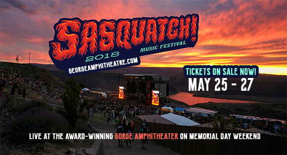 Sasquatch! Festival - Weekend Camping Pass (5/25-5/27) at Gorge Amphitheatre