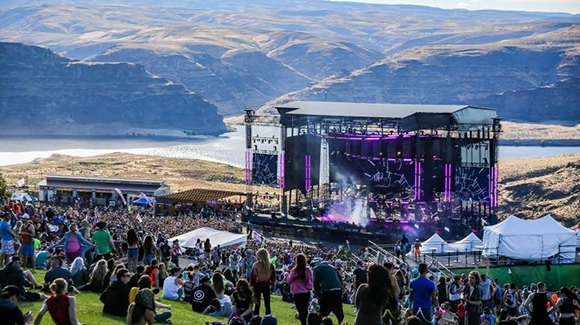 Paradiso Festival - Weekend Camping Pass at Gorge Amphitheatre
