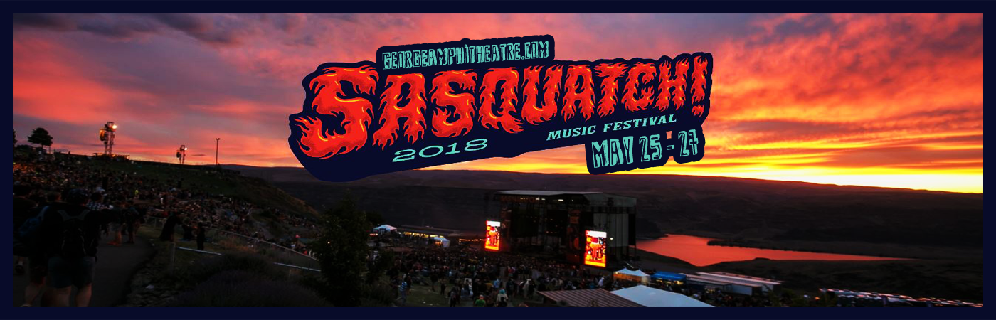 Sasquatch Festival at Gorge Amphitheatre