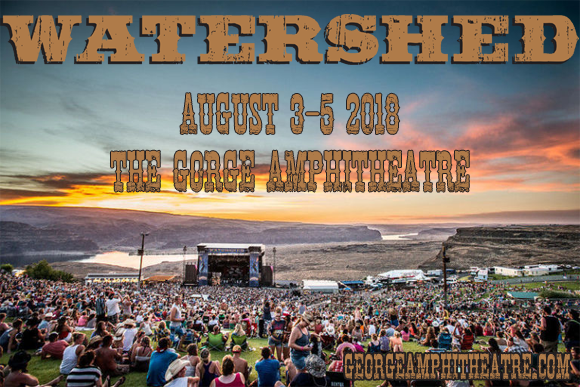 Watershed Festival - Sunday Admission at Gorge Amphitheatre