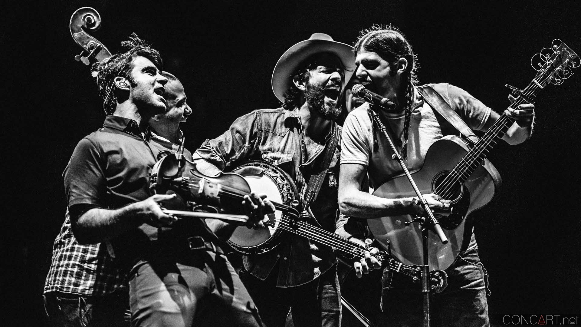 The Avett Brothers, The Head and The Heart & Shovels and Rope at Gorge Amphitheatre