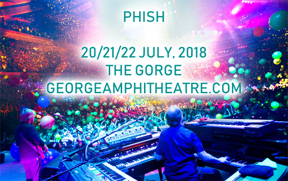 Camping Pass - Phish (7/19-7/23) at Gorge Amphitheatre