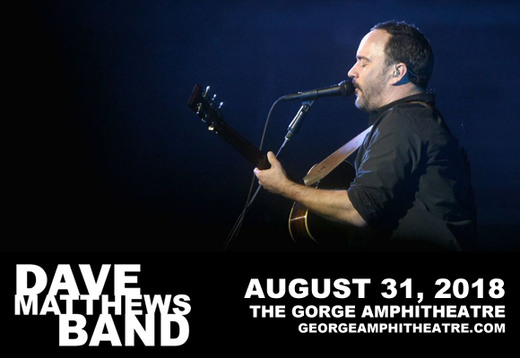 Camping Pass - Dave Matthews Band (8/31-9/2) at Gorge Amphitheatre