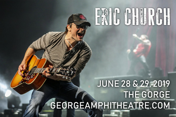 Eric Church - 3 Day Camping Pass at Gorge Amphitheatre