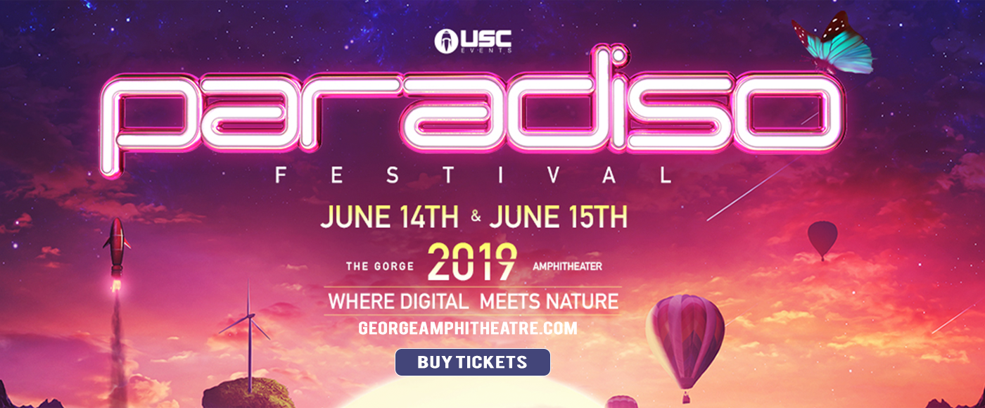 Paradiso Festival - Friday Pass at Gorge Amphitheatre