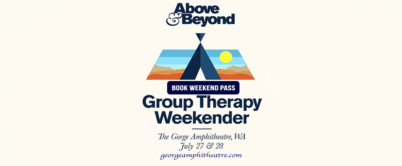 Above & Beyond at Gorge Amphitheatre