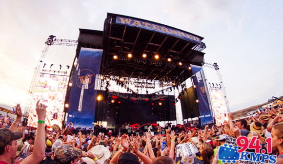 Watershed Festival - 4 Day Camping Pass at Gorge Amphitheatre