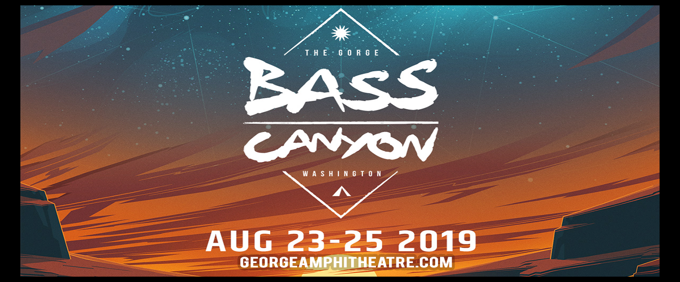 Bass Canyon Festival - 4 Day Camping Pass at Gorge Amphitheatre