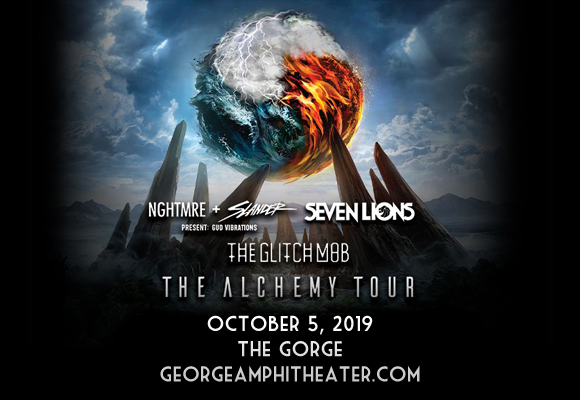 Nghtmre, Slander, Seven Lions & The Glitch Mob at Gorge Amphitheatre