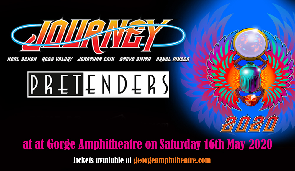 Journey & The Pretenders at Gorge Amphitheatre