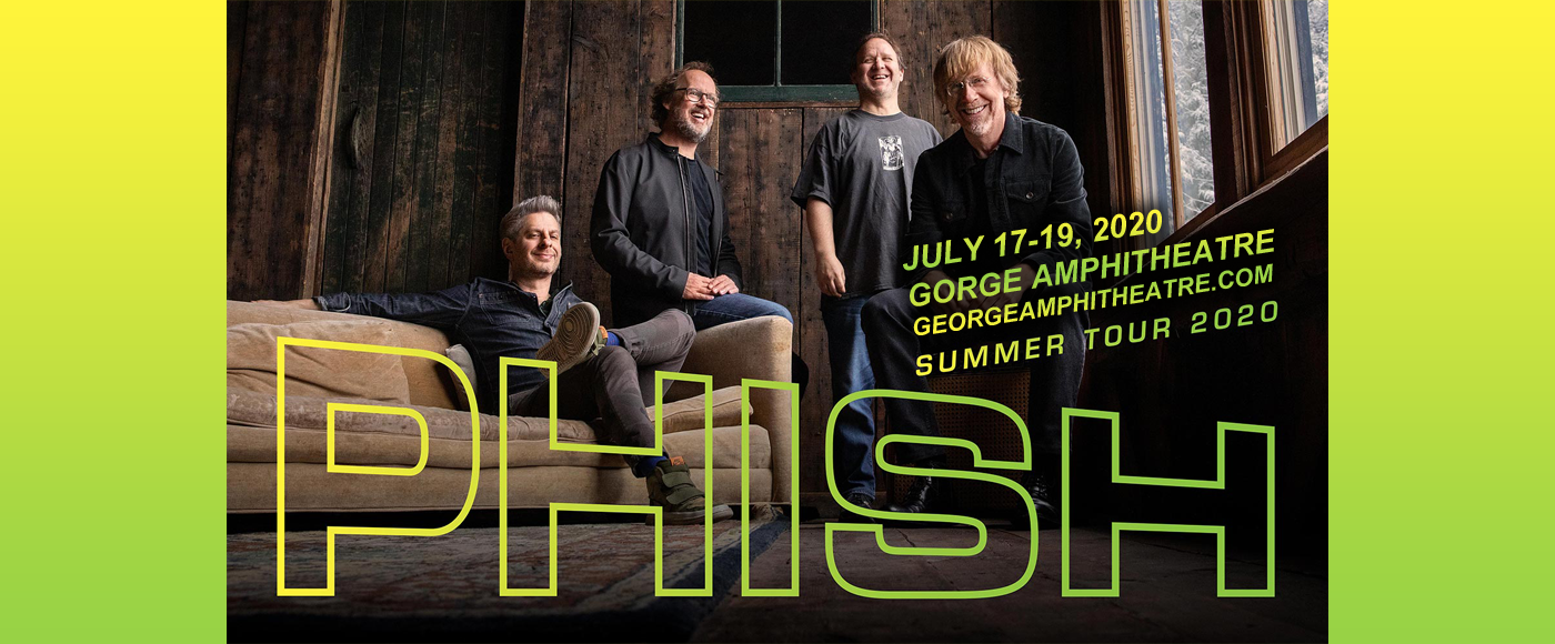 Phish at Gorge Amphitheatre