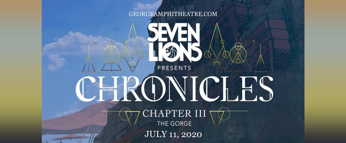 Seven Lions at Gorge Amphitheatre