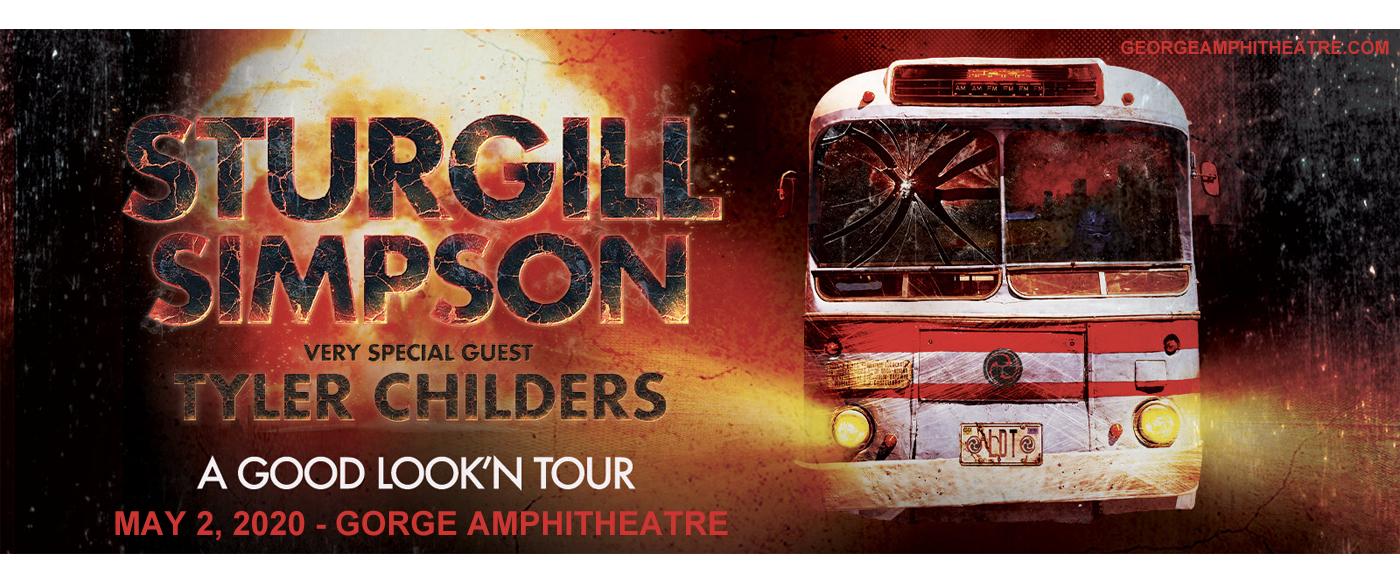 Sturgill Simpson & Tyler Childers [POSTPONED] at Gorge Amphitheatre
