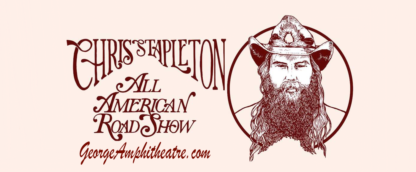 Chris Stapleton at Gorge Amphitheatre