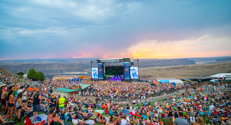 Watershed Festival - 3 Day Camping Pass (7/31-8/2) at Gorge Amphitheatre