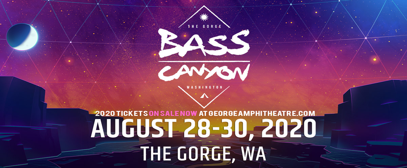 Bass Canyon Festival - 3 Day Pass at Gorge Amphitheatre