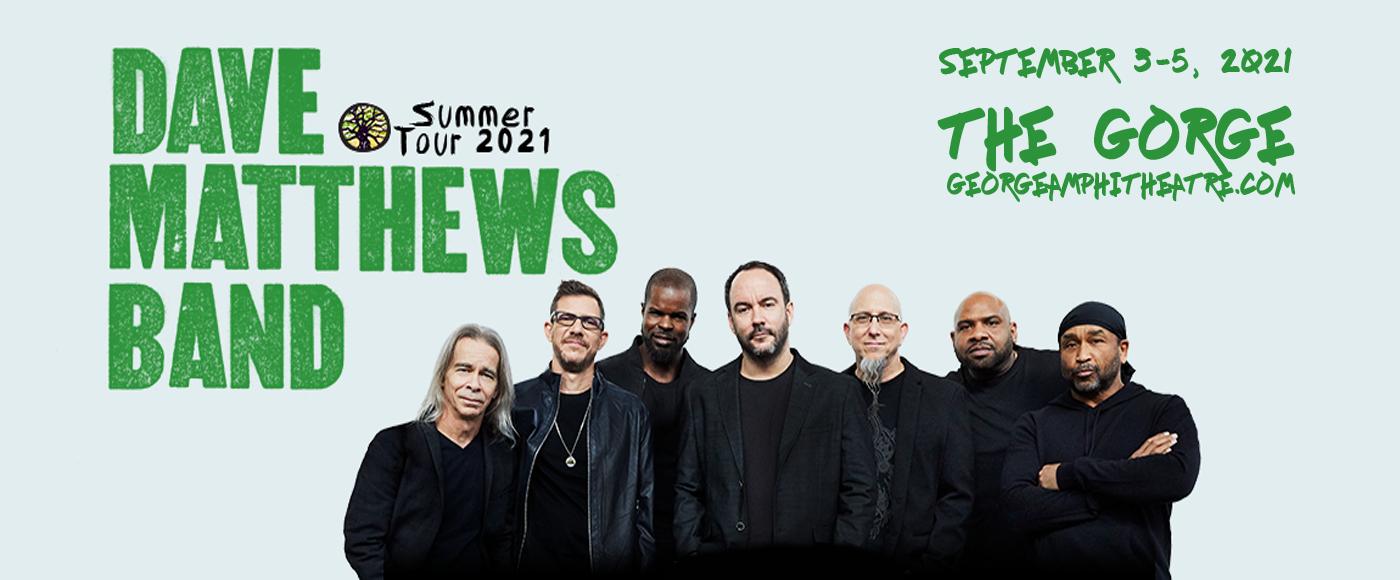 Dave Matthews Band at Gorge Amphitheatre