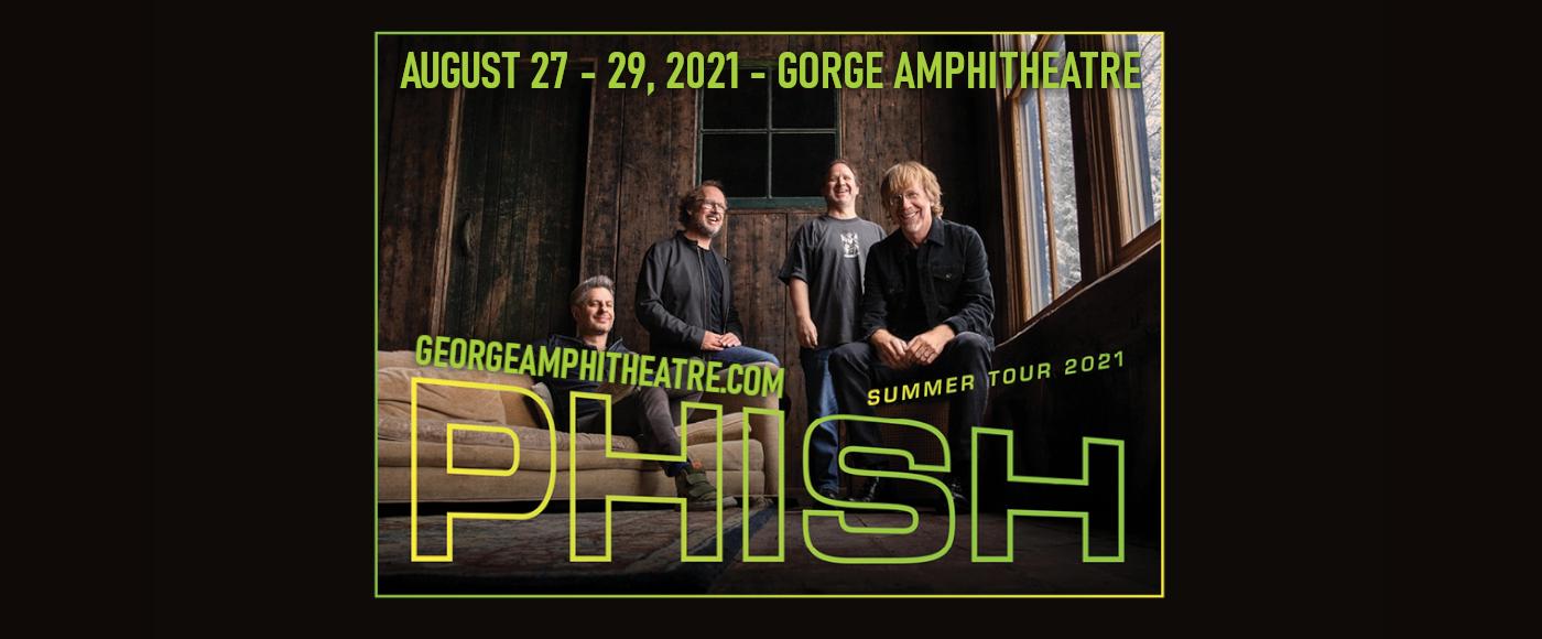 Phish at Gorge Amphitheatre