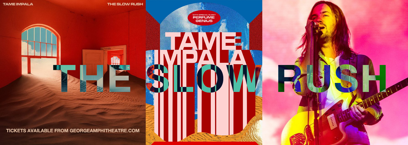 Tame Impala The Slow Rush North American Tour at Gorge Amphitheatre