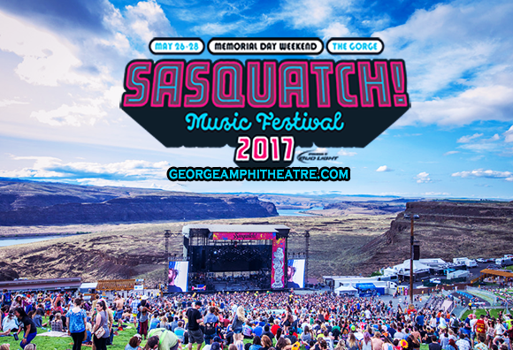 Sasquatch! Festival - Sunday Admission at Gorge Amphitheatre