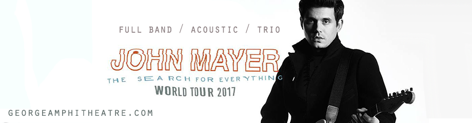 John Mayer at Gorge Amphitheatre