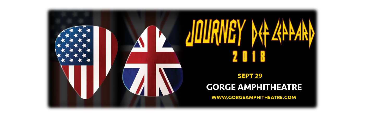 Journey & Def Leppard - Camping Pass at Gorge Amphitheatre