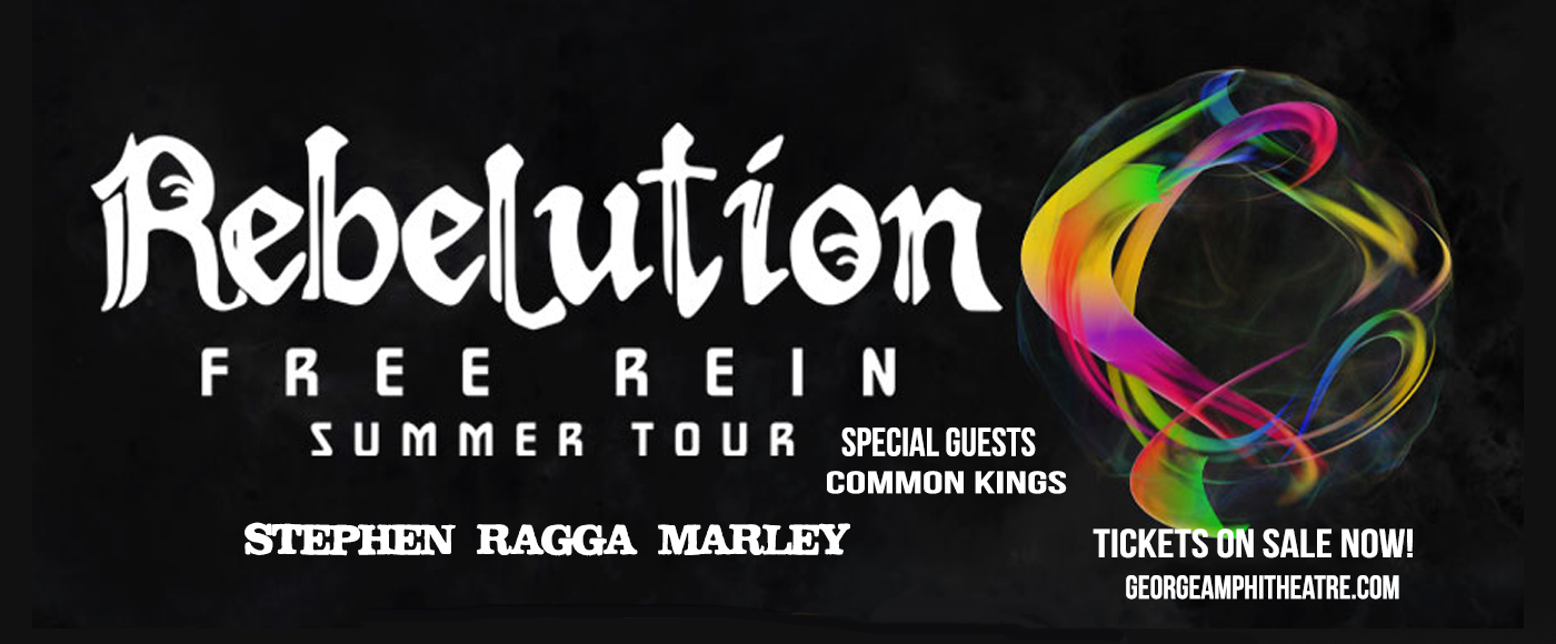 Rebelution, Stephen Marley & Common Kings at Gorge Amphitheatre