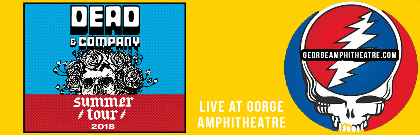 Camping Pass - Dead & Company (6/28-6/30) at Gorge Amphitheatre