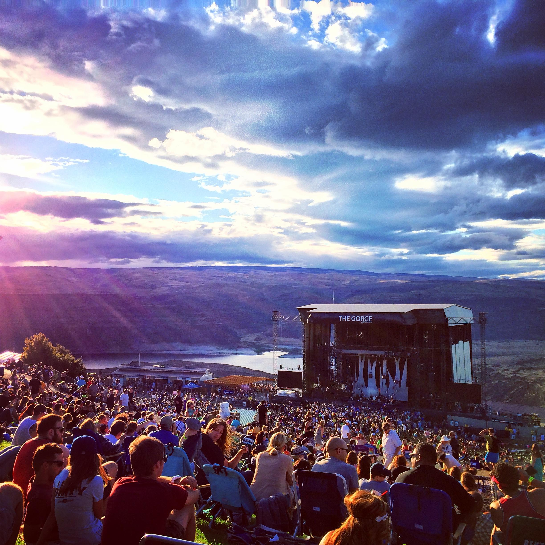 Camping Pass - Dave Matthews Band (8/31-9/2) at Gorge Amphitheatre