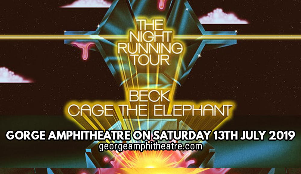 Beck & Cage The Elephant at Gorge Amphitheatre