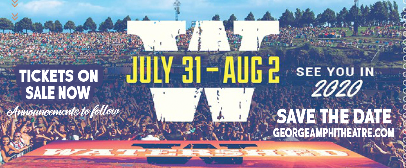 Watershed Festival - Sunday at Gorge Amphitheatre