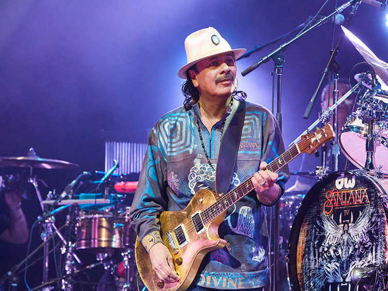 Santana & Earth, Wind and Fire [CANCELLED] at Gorge Amphitheatre