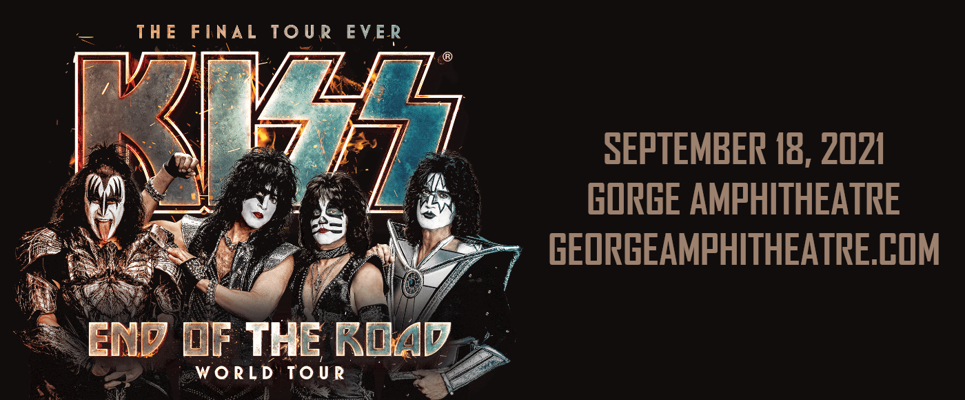 Kiss at Gorge Amphitheatre